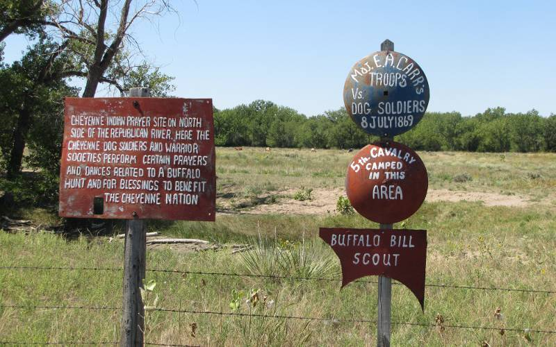 5th Cavalry camp - St, Francis, Kansas