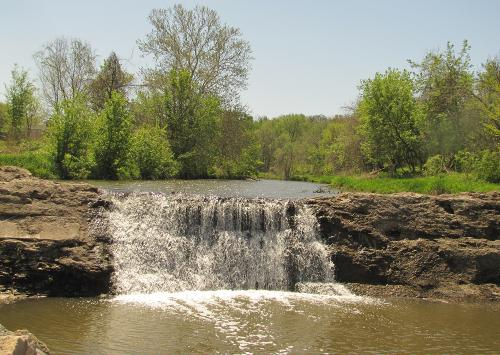 Cedar Creek Falls - Olathe, Kansas