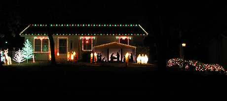 County Line Road Nativity - Kansas City, Kansas.