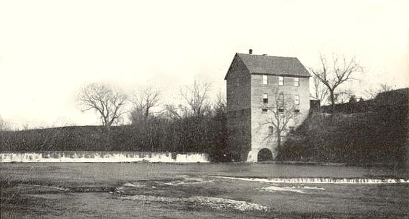 Drury Mill and dam