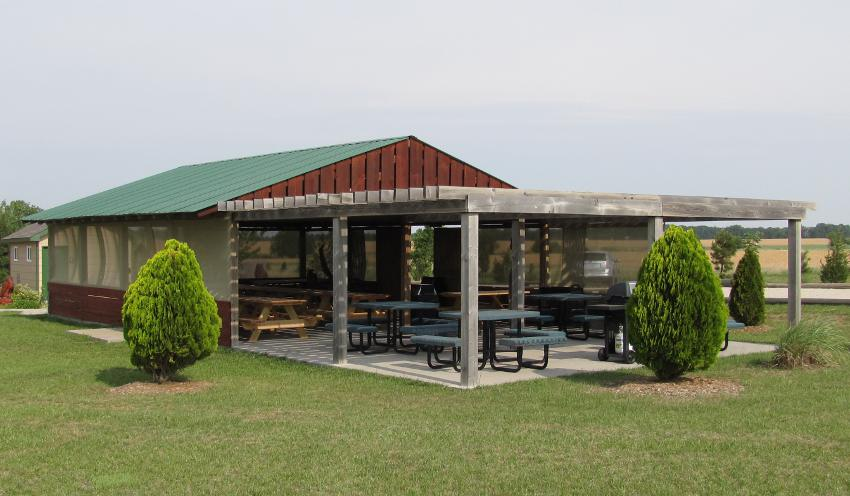Pavilion at Eagle Valley Raptor Center