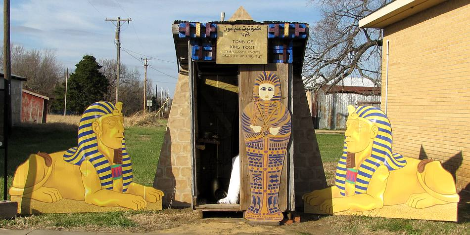 King Toot - Egyptian them outhouse