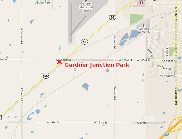 Gardner Junction Park Map - Gardner, Kansas