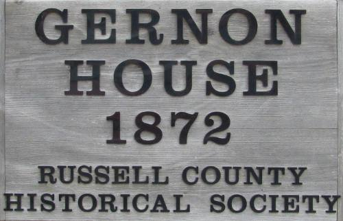 Gernon House - Russell County Historical Society