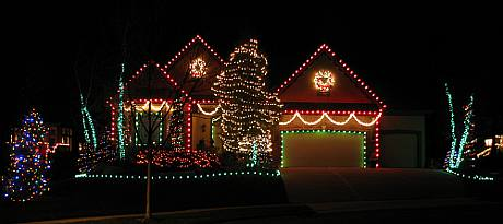 Knox Street Christmas Display - Overland Park, Kansas