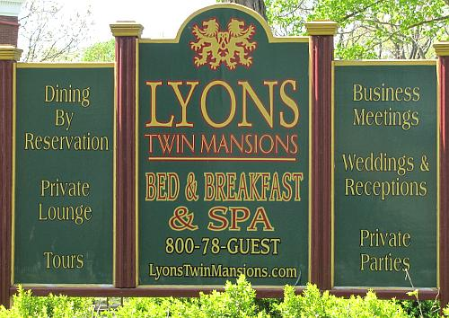 Lyons Twin Mansions Bed & Breakfast and Spa in Fort Scott, Kansas