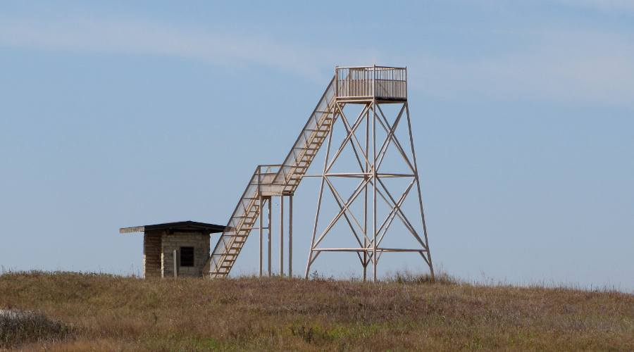 Maxwell Wildlife Refuge Observation Tower