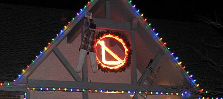 No L - Noel Christmas Light Display
