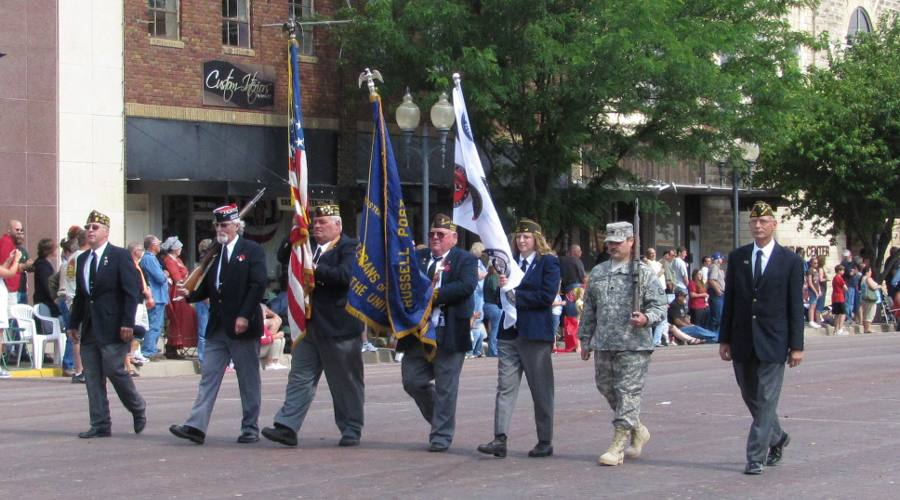 VFW Post 6240 Color Guard - Russell, Kansas