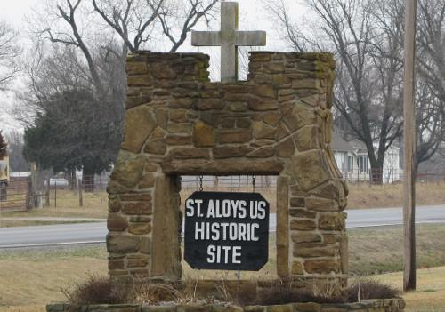 St. Aloysius Church Historic Site - Greenbush, Kansas