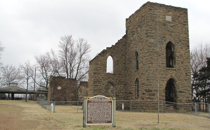 St. Aloysius Church ruins