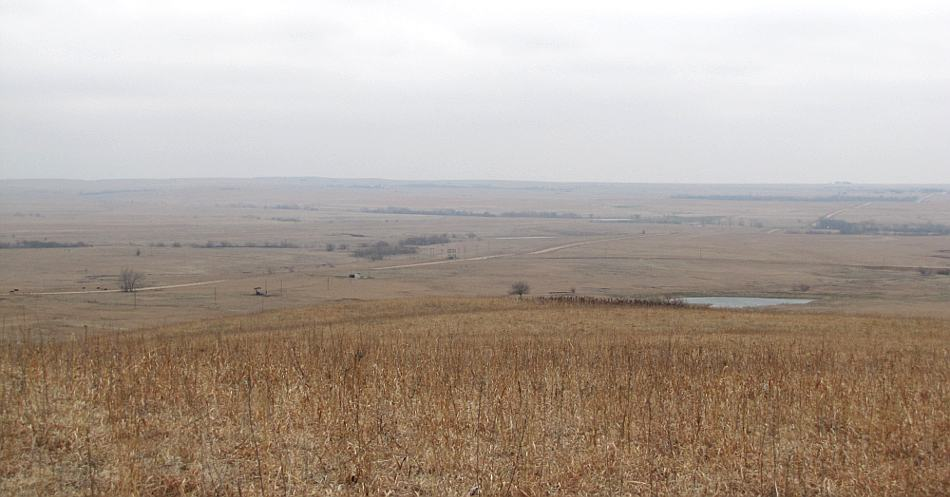 View from Teter Rock in the Flint Hills