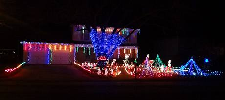 Bender Christmas Light Path - Overland Park, Kansas