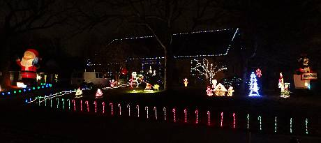 Butcher Christmas Light Display - Overland Park, Kansas