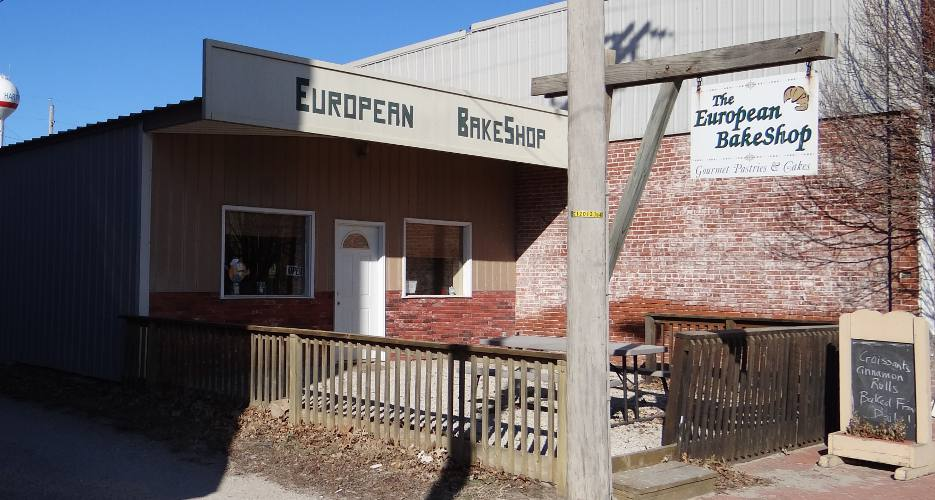 The European BakeShop in Hartford, Kansas