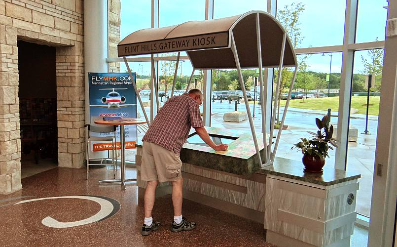 Flint Hills Gateway Kiosk - Manhattan, Kansas