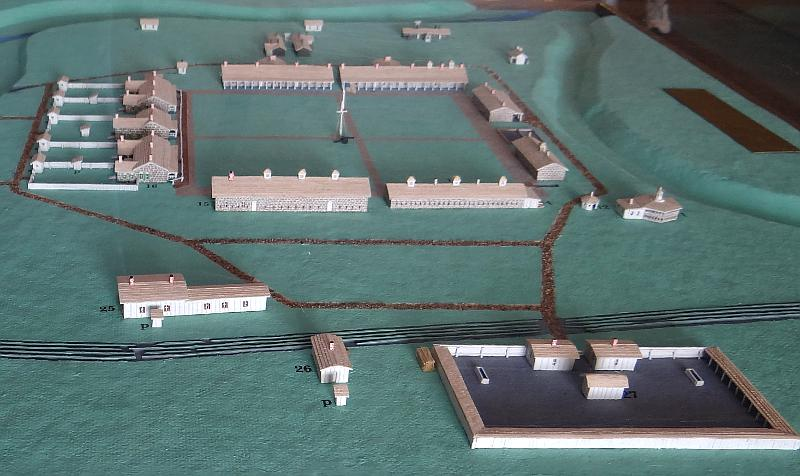 Fort Larned model - Larned, Kansas