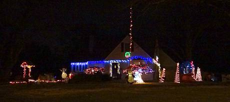 Hadley Street Christmas Display - Overland Park, Kansas