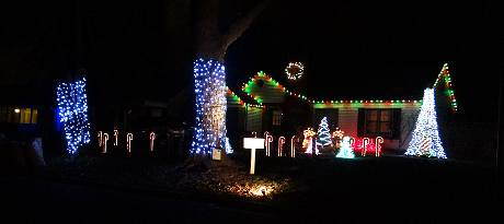 Harrington Holiday Lights - Prairie Village, Kansas