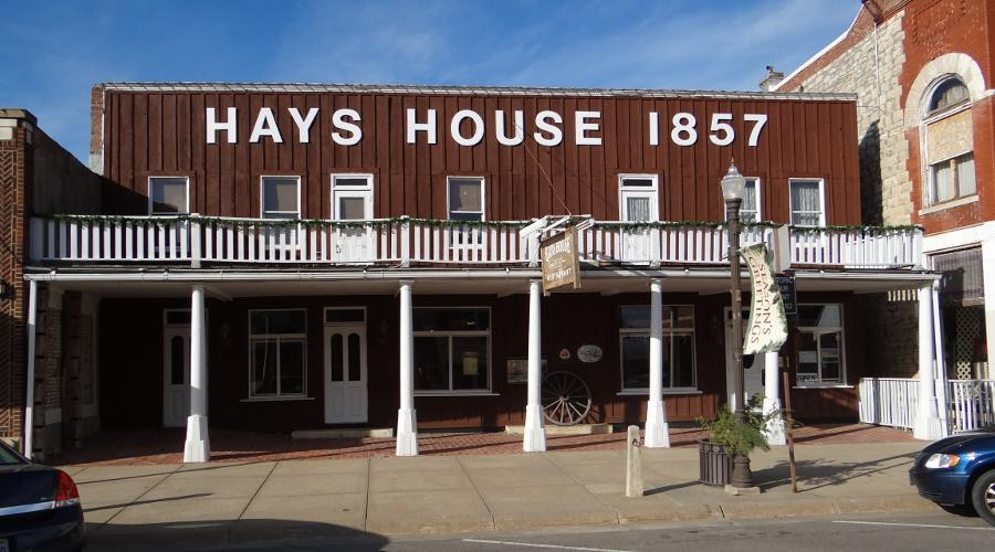 Hays House  prior to renovation