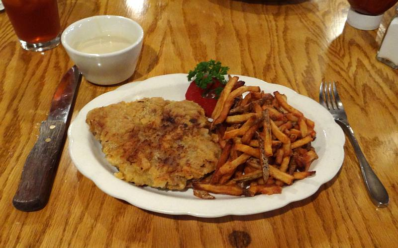 Chicken fried steak - Hays House restaurant