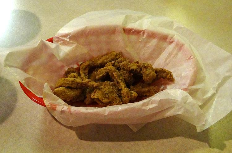 Mountain Oysters - Idle-a-while bar and grill
