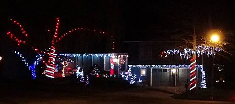 105th Street Christmas Display - Overland Park, Kansas