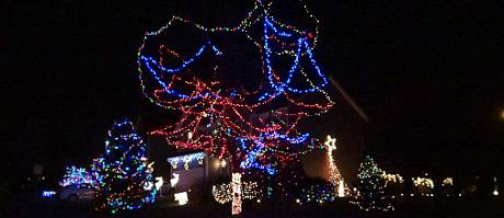 Slatter Street Christmas Display - Overland Park, Kansas