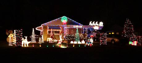 South 46th Terrace Christmas Display - Kansas City, Kansas