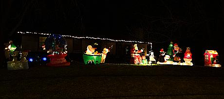 Clark Family Christmas light and music program - Shawnee, Kansas