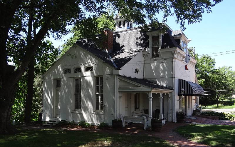 Cray Historical House carriage house