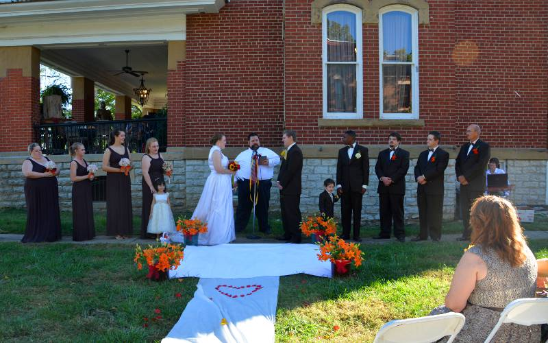 Fort Scott Wedding venue