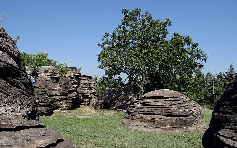 Concretions at Rock City, Kansas