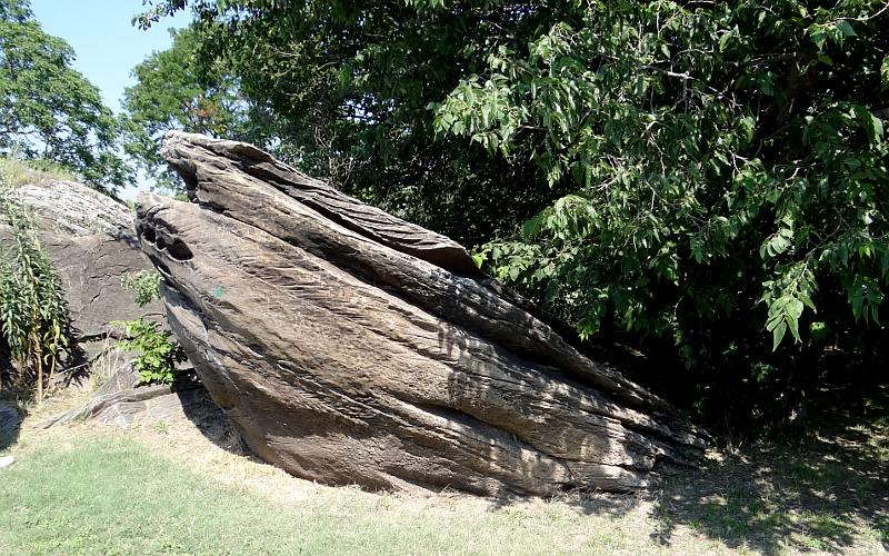 Shipwreck Rock at Rock City, Kansas