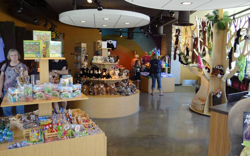 Sunset Zoo gift shop - Manhattan, Kansas