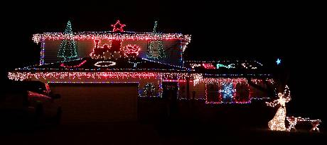 47th Street Christmas Display - Shawnee, Kansas