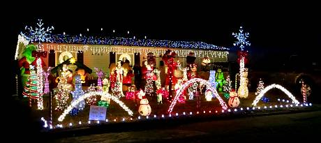 52nd Street Christmas Display - Kansas City, Kansas