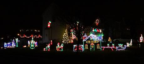 Millbrook Christmas Lights - Shawnee, Kansas