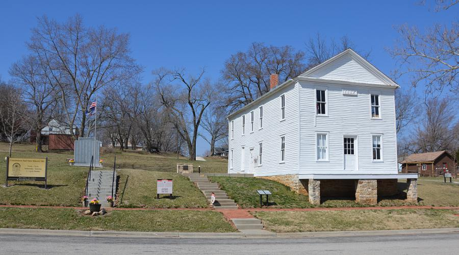 Constitution Hall - Lecompton, Kansas