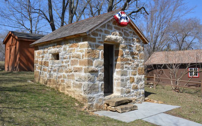 Lecompton Town Jail