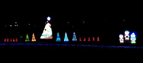 Dorr Family Light Show - Olathe, Kansas