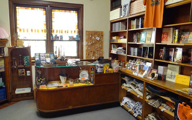 Ellis County Historical Society Museum gift shop