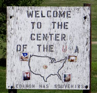 Geographic Center of the United States - Lebanon, Kansas