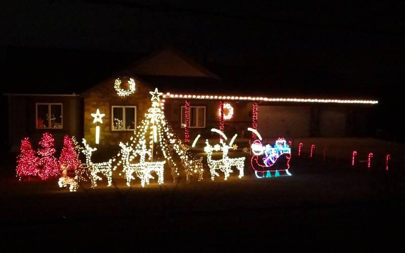 mason family christmas light program edwardsville kansas