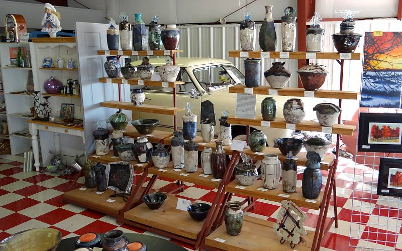 Raku Pottery - Memory Lane Marketplace