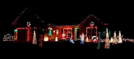 160th Terrace Christmas Lights - Olathe, Kansas