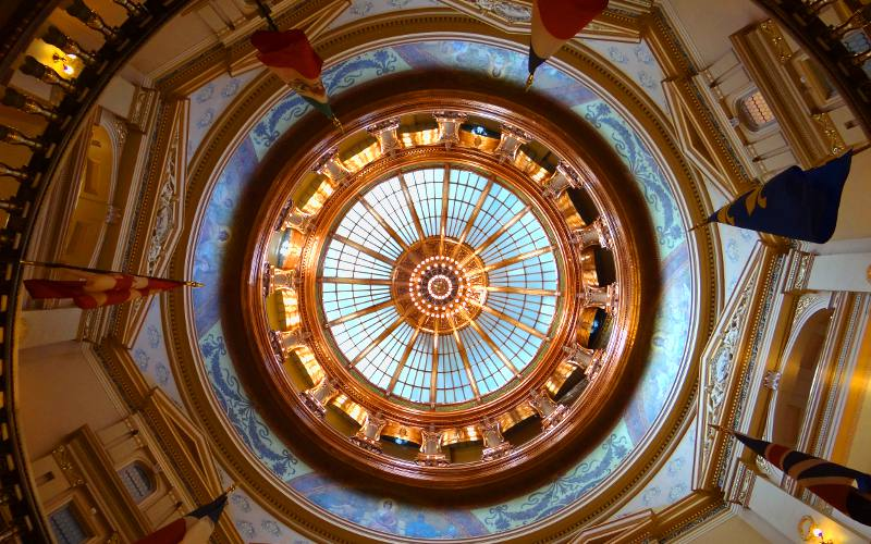 Kansas State Capitol Dome