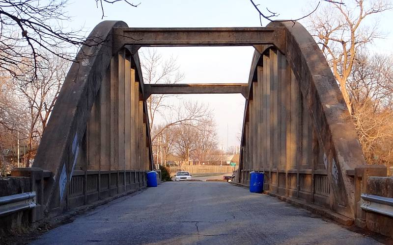Emporia Kansas March Arch Bridge