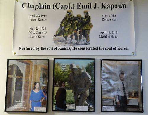 Chaplain Father Emil J. Kapaun - Pilsen, Kansas