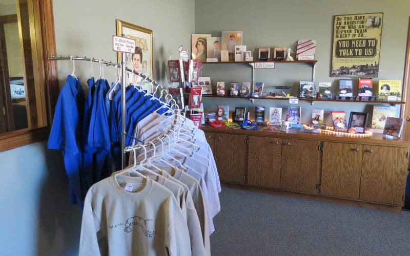 National Orphan Train Gift Shop - Concordia